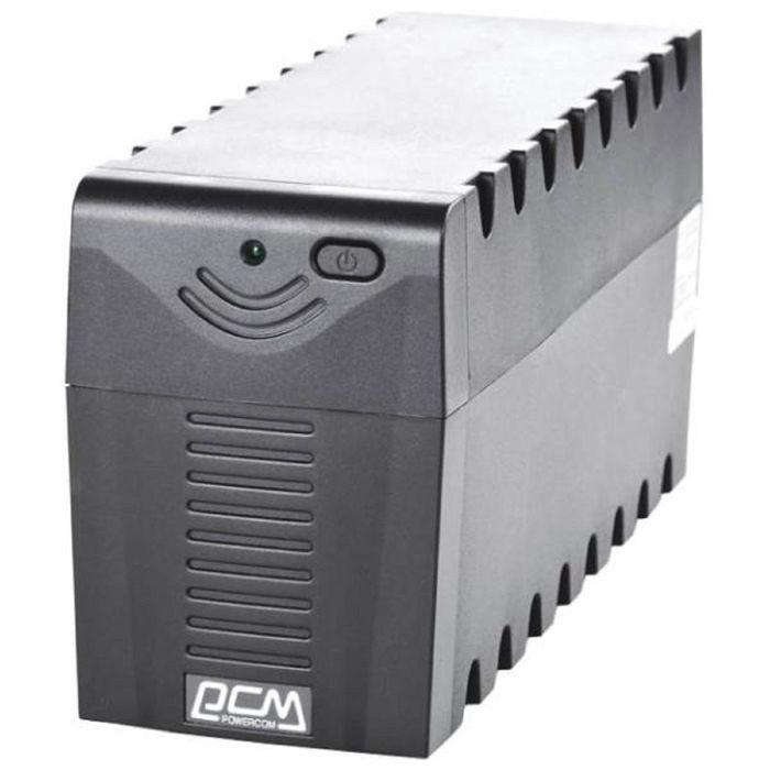 Источник бесперебойного питания Powercom Raptor RPT-1000A EURO, 600 Вт, 1000 ВА, черный