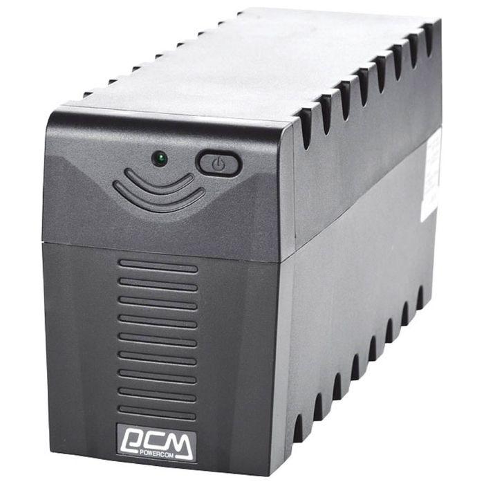 Источник бесперебойного питания Powercom Raptor RPT-1000AP, 600 Вт, 1000 ВА, черный