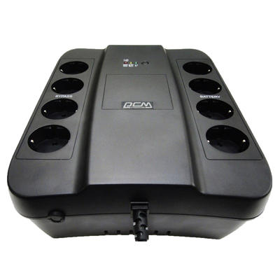 Источник бесперебойного питания Powercom PCM SPD-1000U, 550 Вт, 1000 ВА, черный