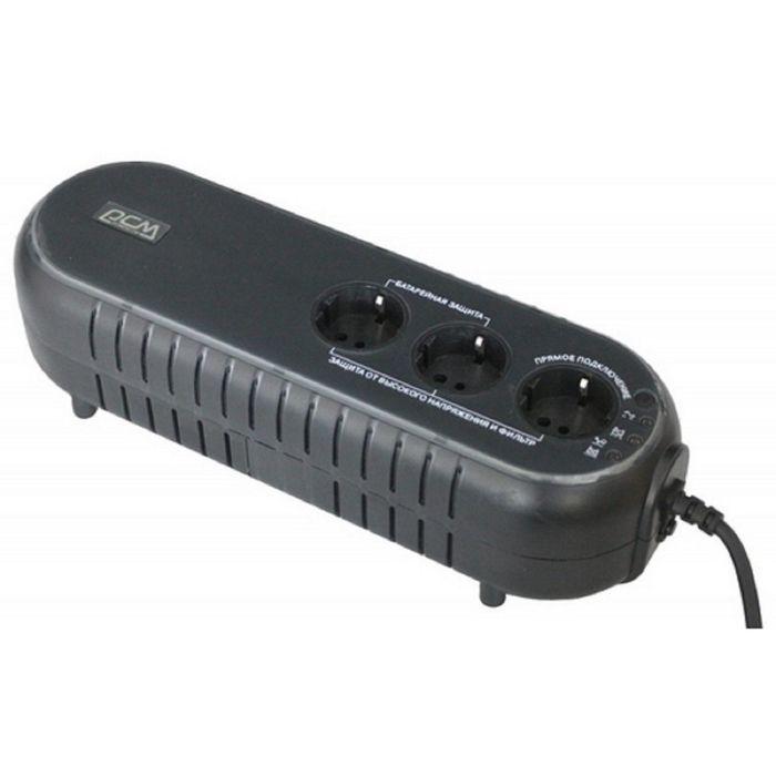 Источник бесперебойного питания Powercom WOW 500U, 250 Вт, 500 ВА, черный