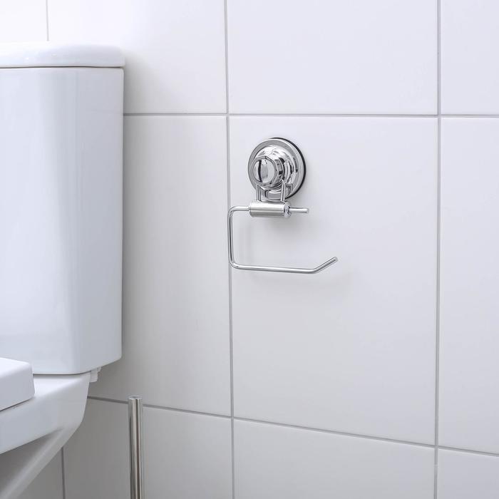 """Держатель для туалетной бумаги на вакуумных присосках """"Accoona A11405-3"""", цвет хром"""