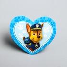 Щенячий патруль. Открытка-валентинка