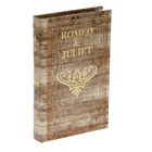 "Шкатулка дерево книга ""Ромео и Джульетта"" 21х14х3 см"