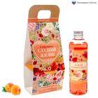 """Гель для душа """"С пожеланием сладкой жизни!"""" с ароматом персика, 250 мл"""