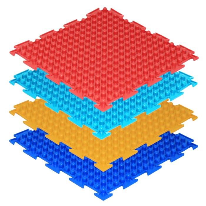 Массажный коврик 1 модуль «Орто. Шипы», цвета МИКС