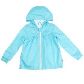 Ветровка для девочки, рост 110-116 см, цвет бирюзовый 1047
