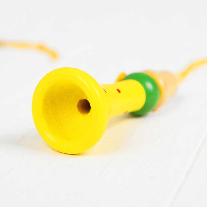 Музыкальная игрушка «Дудочка на верёвочке», цвета микс