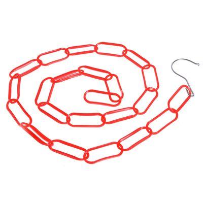 Цепочка-держатель для плечиков, звенья 6,5x2,5, L=130, цвет МИКС