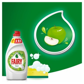 """Средство для мытья посуды FAIRY """"Зеленое яблоко"""", 450 мл - фото 1709427"""