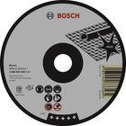 Круг отрезной по нержавейке BOSCH 2608603406, Expert for Inox, Rapido, прямой, 180х1,6 мм