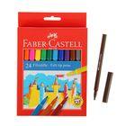 "Фломастеры 24 цвета Faber-Castell ""Замок"" 5542"