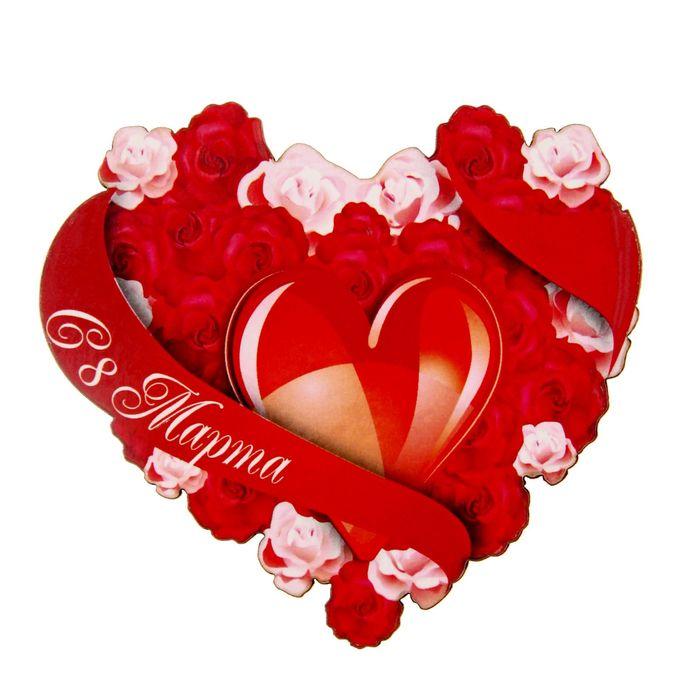 Сердечки картинки на 8 марта