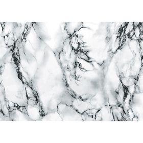 Самоклеящаяся пленка Мрамор серый 0,45x2 м