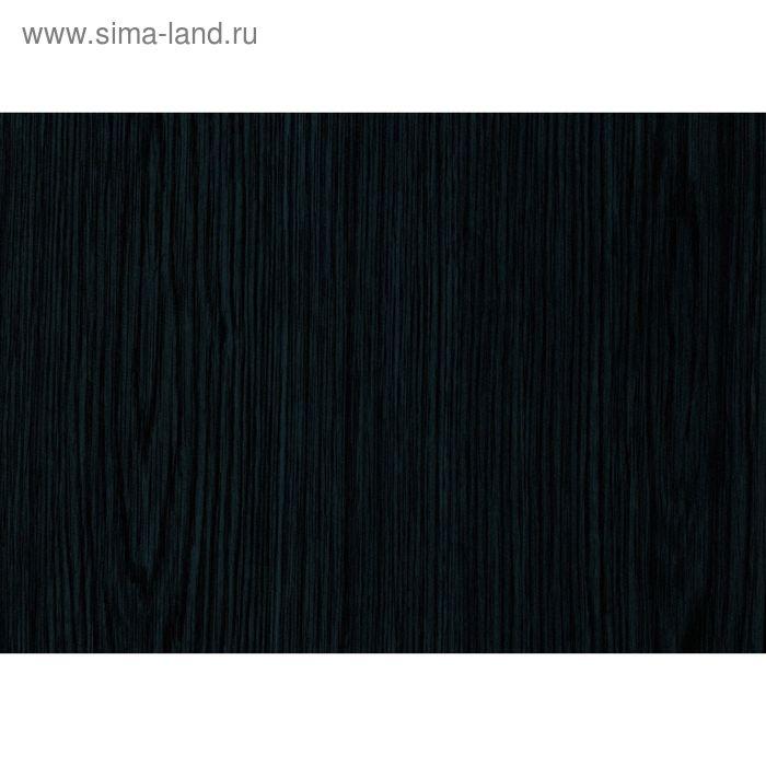 Самоклеящаяся пленка Дерево черное 0,9x2 м