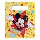 Пакет подарочный полиэтиленовый Микки Маус