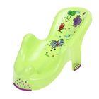 Горка для купания анатомическая Hippo, цвет лайм