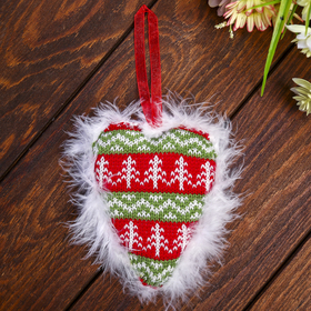 """Souvenir """"Heart with fluffy bright"""""""
