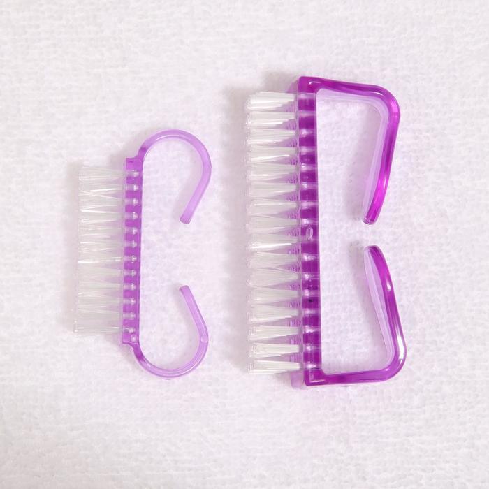 Щётки для маникюра и педикюра, 2шт, цвет МИКС