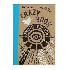 Crazy book. Photo edition. Сумасшедшая книга-генератор идей для креативных фото (крафтовая обложка). Селлер К.