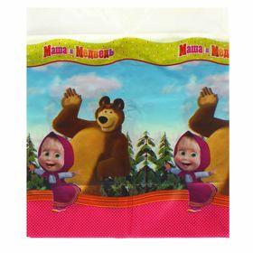 Скатерть «Маша и Медведь», 130х180 см