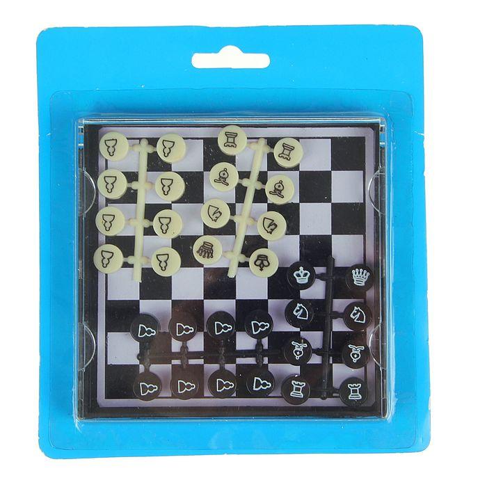 Магнитные мини-шахматы, поле 11 × 11 см, в коробке