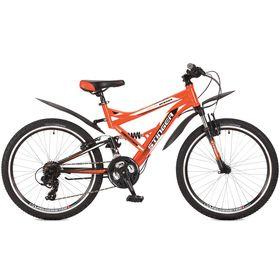 """Велосипед 24"""" Stinger Versus, 2017, цвет оранжевый, размер 16,5"""""""