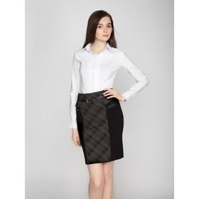 Рубашка женская классическая, размер 54, рост 164 см, цвет белый Ош