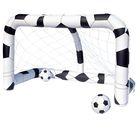 Футбольный набор (надувные ворота + 2 мяча) 213х122х137см, от 3+ (52058) Bestway