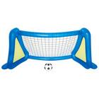 Футбольный набор: надувные ворота с брызгалкой + мяч, 254 х 112 х 130 см, от 4 лет, 52215 Bestway