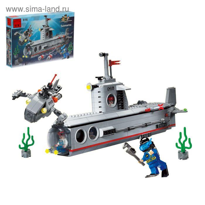 """Конструктор """"Подводные исследователи"""", 382 деталей"""