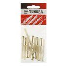 Дюбель-гвоздь TUNDRA krep, 6К40, потайная манжета, нейлон, в пакете 12 шт.
