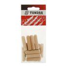 Шкант мебельный TUNDRA krep, 10х40 мм, в пакетике 14 шт.