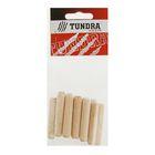 Шкант мебельный TUNDRA krep, 10х50 мм, в пакете 12 шт.