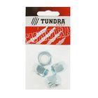 Гайка самоконтрящаяся DIN985 TUNDRA krep, оцинкованная, М14, в пакете 4 шт.