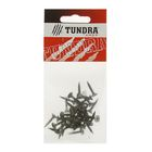 Саморез по металлу TUNDRA krep, 3.5х19 мм, оксид, частая резьба, 40 шт.