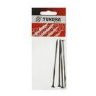 Саморез по металлу TUNDRA krep, 4.8х100 мм, оксид, частая резьба, 4 шт.