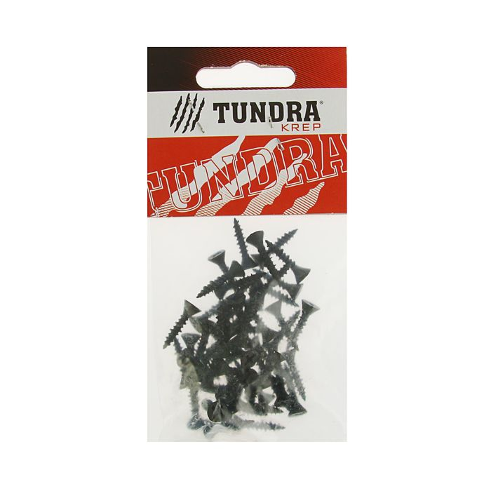 Саморезы по ГВЛ TUNDRA krep, 3.9х19 мм, 50 шт.