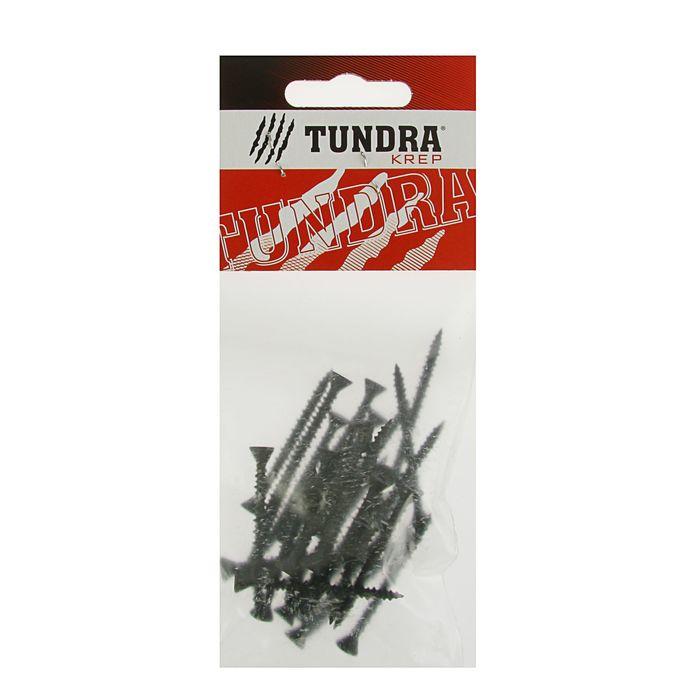Саморезы по ГВЛ TUNDRA krep, 3.9х45 мм, 30 шт.