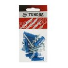 Саморезы универсальные TUNDRA krep, 5х40 мм, цинк, потай, с дюбелем 8х30 мм, 10 шт.