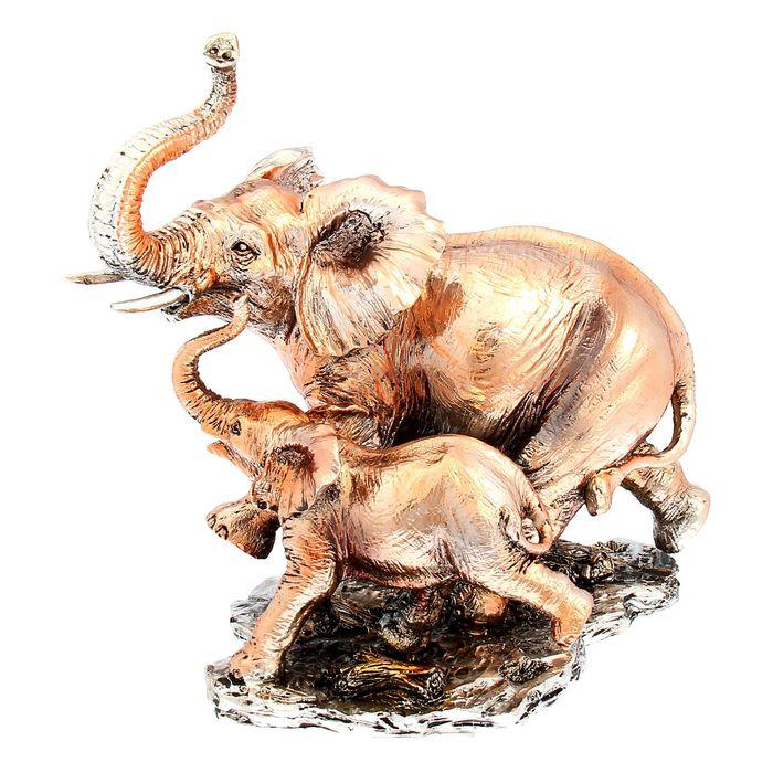 """Сувенир """"Слон со слонёнком"""""""