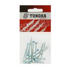 Саморезы универсальные TUNDRA krep, 4х45 мм, цинк, потай, 14 шт.