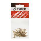 Саморезы универсальные TUNDRA krep, 3х30 мм, жёлтый цинк, потай, 25 шт.