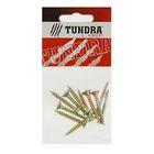 Саморезы универсальные TUNDRA krep, 5х35 мм, жёлтый цинк, потай, 11 шт.