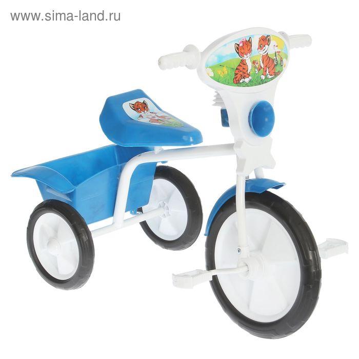 """Велосипед трехколесный  """"Малыш""""  05П, цвет синий, фасовка: 1шт."""