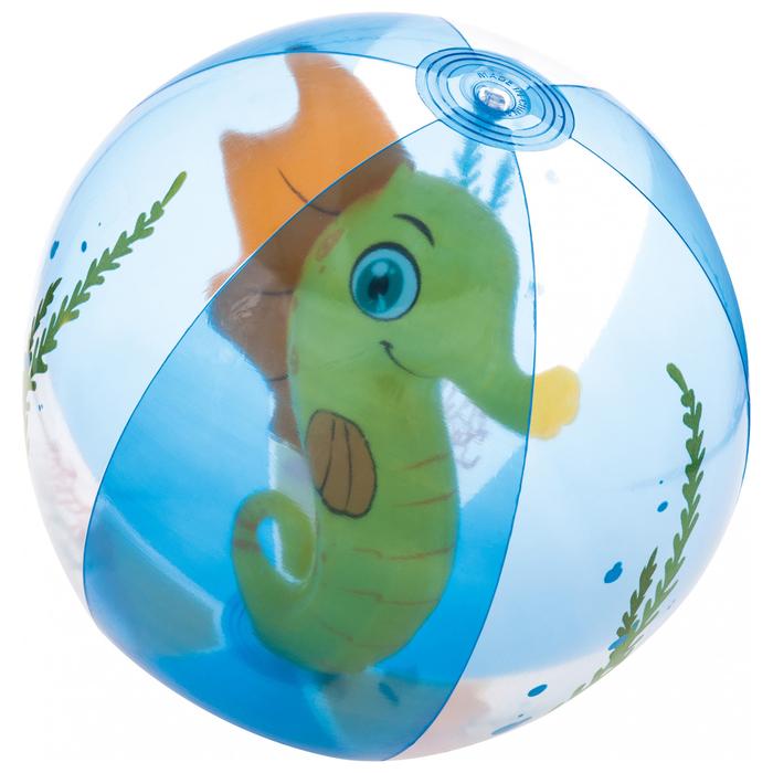 Мяч пляжный «Аквариум», от 2 лет, d=51 см, цвет МИКС, 31041 Bestway