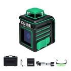 Нивелир лазерный ADA Cube 360 Home Green Ultimate Edition, 20/70 м, ±3 мм/10 м, 360°