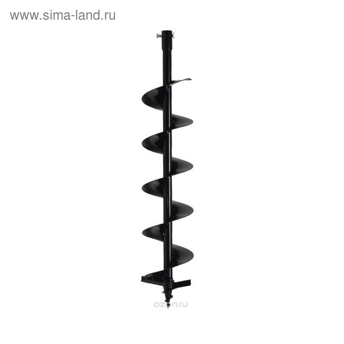 Шнек для бензобура ADA Drill 150, 800 мм, d=150 мм, посадочный d=20 мм