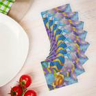 """Салфетки бумажные """"Раскрашенные яйца"""", набор 20 шт., 33 × 33 см"""