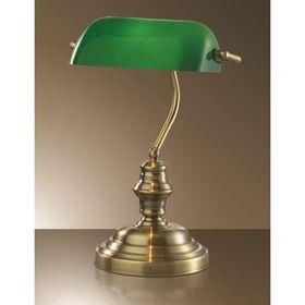 """Настольная лампа """"Трес"""", 60Вт Е27, цвет бронза"""