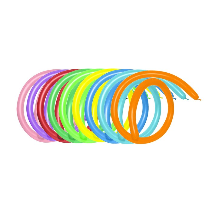 Шар для моделирования 260, набор 500 шт., цвета МИКС - фото 308468925